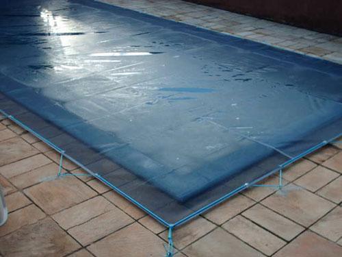 Telas para piscinas floripa redes for Tela impermeable para piscinas