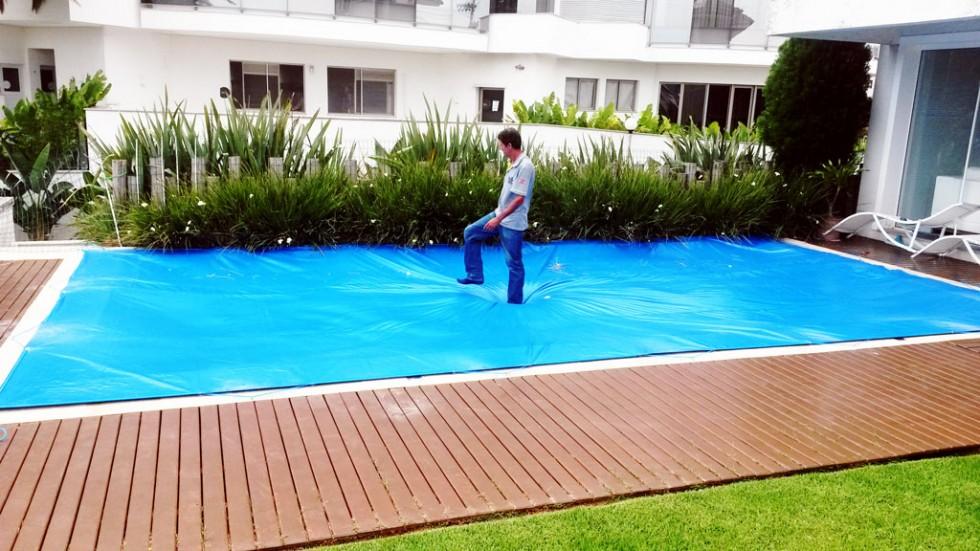 Capa para piscina resistente