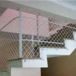 Tela de proteção para escada