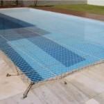 Telas e capas para piscinas