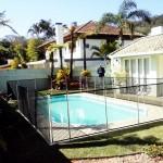 Cerca de proteção (removível) para piscina